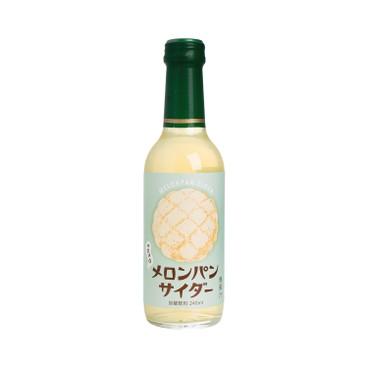 木村飲料 - 麵包味梳打-蜜瓜包味 - 240ML