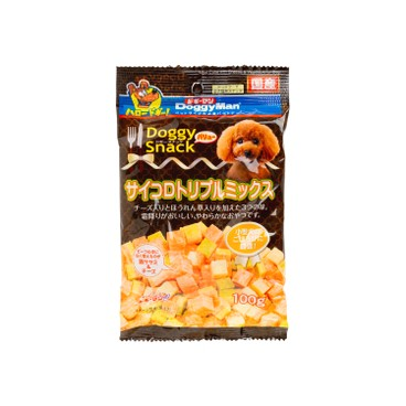 DOGGYMAN - Frosted Beef Assorted Cubes - 100G