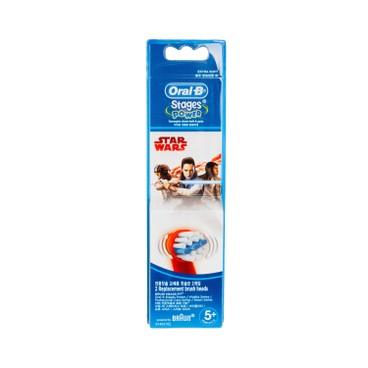 ORAL-B - Eb 10 2 k Brush Set Kids starwars - 2'S