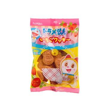 HOKKA - Doraemon Cookies strawberry - 60G
