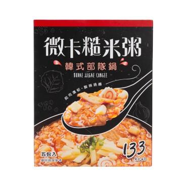 MINIKA - Brown Rice Congee budae Jjigae 5 s - 180G