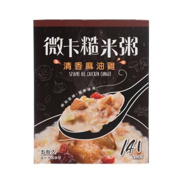 MINIKA - Brown Rice Congee sesame Oil Chicken 5 s - 180G