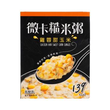 MINIKA - Brown Rice Congee chicken Corn 5 s - 180G