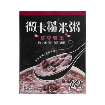 MINIKA - Brown Rice Congee red Bean Purple Rice 5 s - 180G