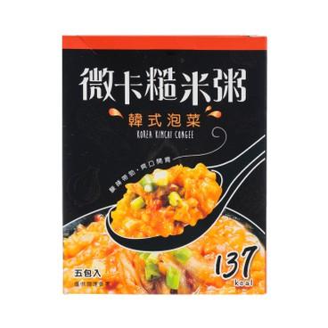 MINIKA - Brown Rice Congee korean Kimchi 5 s - 180G