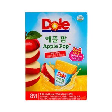 DOLE - Ice Fruit Stick Apple - 8'S
