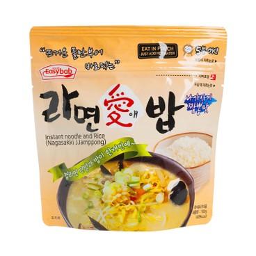 EASYBAB - Instant Noodle And Rice Nagasakki Jjamppong - 100G