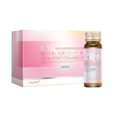 MUMO - 15 000 mg Total Effect Collagen Drink - 30MLX10