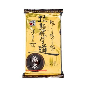 五木食品 - 拉麵-熊本豚骨燒大蒜黑醬油湯味 (2人份量) - 272G