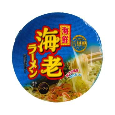 山本製粉 - 醬油海鮮撈麵 - 72G