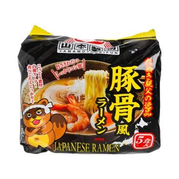 山本製粉 - 濃厚味噌豚骨拉麵(2人份) - 450g