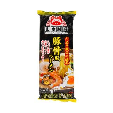 山本製粉 - 濃厚味噌豚骨拉麵(2人份) - 220g