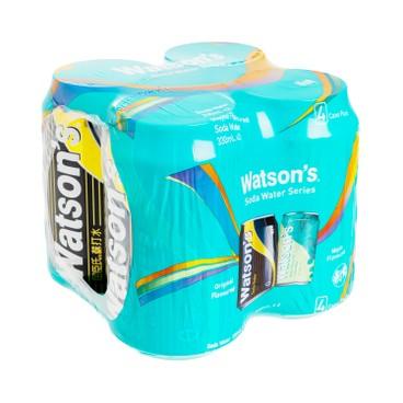 WATSONS - Assorted Soda Water mojito And Original Soda - 330MLX4