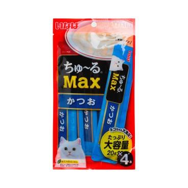 CIAO - 貓用鰹魚味肉醬條 - 20GX4