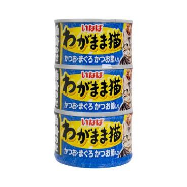 稻葉 - 鰹魚吞拿魚銀魚 - 140GX3