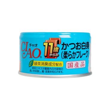 CIAO - 鰹魚軟絲罐頭 - 75G