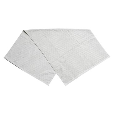 HIORIE - 圓點浴巾(灰色) - PC