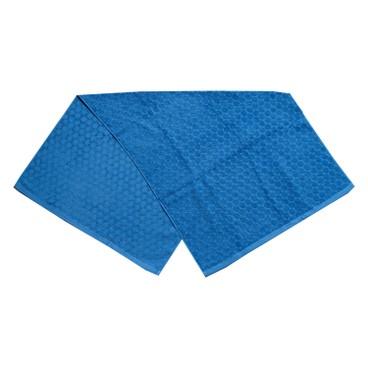 HIORIE - 圓點浴巾(藍色) - PC
