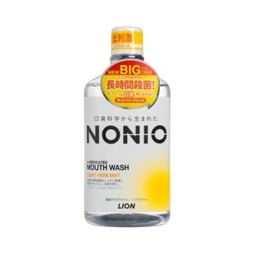 NONIO - 無口氣漱口水- 無酒精 淡雅草本薄荷味 - 1000ML