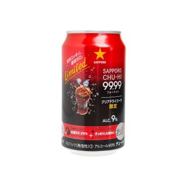 SAPPORO 七寶札幌 - 99.99 透明可樂酒 - 350ML