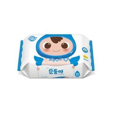 SOONDOONGI - Fragrance Free Premium Baby Wipes - 20'S