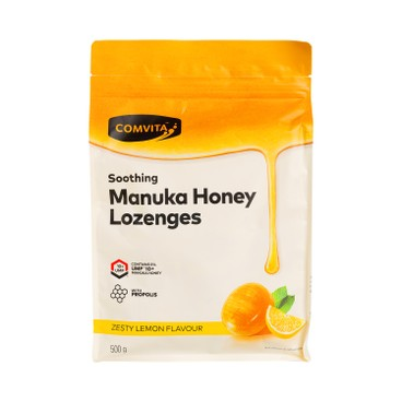 COMVITA - Lemon Honey Lozenges - 500G