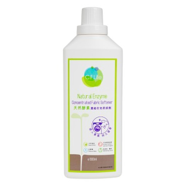 CF LIFE BY CHOI FUNG HONG - Natural Enzyme Concentrated Fabric Softener lovely Floral - 1000ML