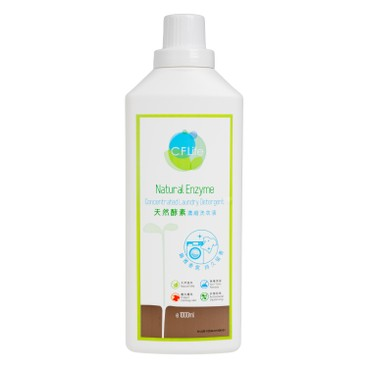 CF LIFE BY CHOI FUNG HONG - Natural Enzyme Concentrated Laundry Detergent elegant Floral - 1000ML