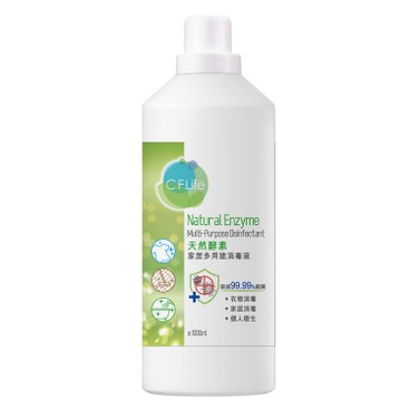 CF LIFE BY CHOI FUNG HONG - Natural Enzyme Multi purpose Disinfectant - 1000ML