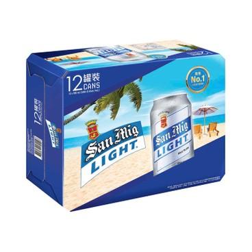SAN MIGUEL - Light Beer - 330MLX12
