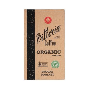 VITTORIA - Ground Coffee Organic Espresso - 200G