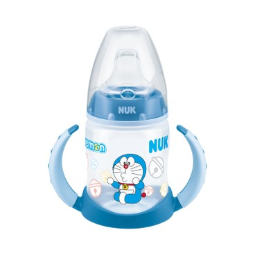 NUK - DORAEMON 150ML寬口PP學飲奶瓶連手柄 - PC