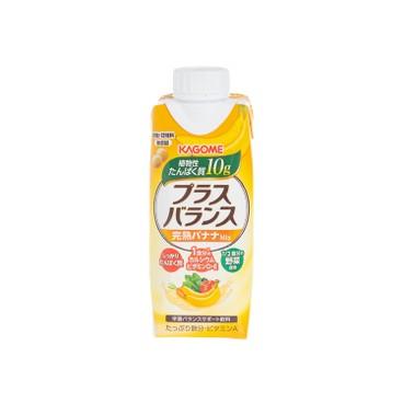 KAGOME - 完熟香蕉混合果汁 - 330ML