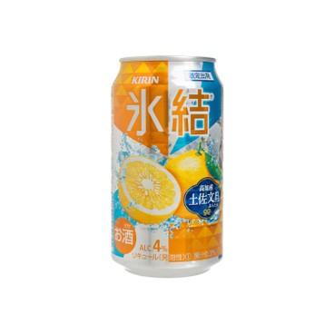 麒麟 - 冰結果汁汽酒-高知產土佐文旦(限定) - 350ML