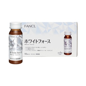 FANCL - White Force Drink - 30MLX10