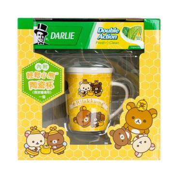 DARLIE - Double Action Toothpaste Package With Free Rilakuma Mug Random - 250GX2