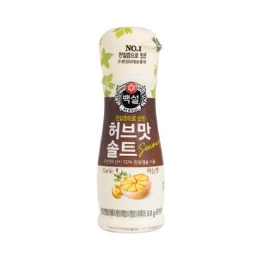 CJ - Sea Salt Herb Salt Garlic - 50G