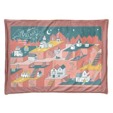 SAGE - 毛毯(村落圖案) - PC