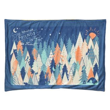 SAGE - 毛毯(森林圖案) - PC