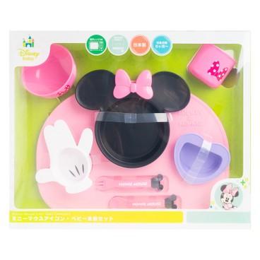 NISHIKI - 迪士尼兒童餐具8件套裝(MINNIE) - PC