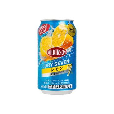 朝日 - DRY SEVEN 檸檬果味有汽酒 - 350ML