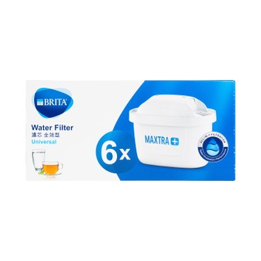 BRITA - MAXTRA+ 六個裝濾水壺濾芯 - PC