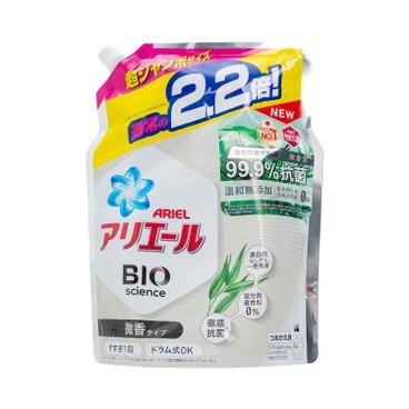 ARIEL - 超濃縮抗菌洗衣液(補充裝)-微香型 - 1430G