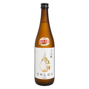 SHIRAYUKI KONISHI - Daiginjo Hiyashibori Golden Drop - 720ML