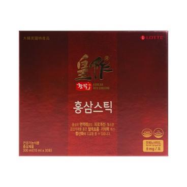 LOTTE - RED GINSENG LIQUID STICK - 10MLX30
