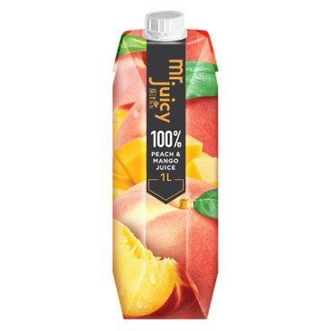 MR. JUICY - 100 Peach Mango Juice - 1L