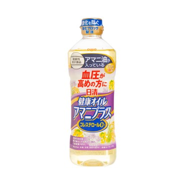 日清 - 健康含Α-亞麻酸高血壓人士配方植物油 - 600G