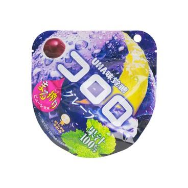 UHA - CORORO軟糖-葡萄果汁味 - 48G
