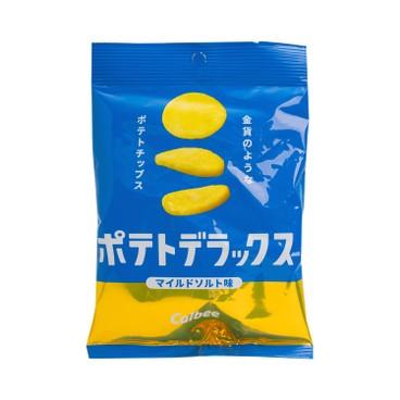 卡樂B - 厚切金幣薯片-薄鹽味 (期間限定) - 50G