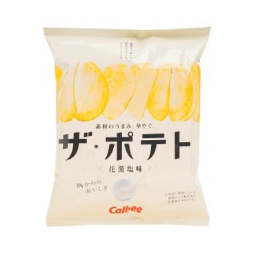 CALBEE - Seaweed Salt Potato Chips - 60G